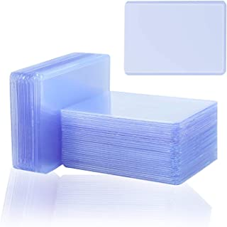 40 Count Top Loaders Trading Card Sleeves, Clear Thick Plastic Trading Cards Sleeves for Baseball Cards, Sports Cards, MT...