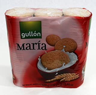 Gullon Maria Biscuits 21.16oz 600g 3 PK Package - Popular Crackers From Spain