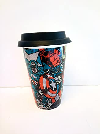 Preisvergleich für Marvel Comics - Retro Comic Cover Travel Mug