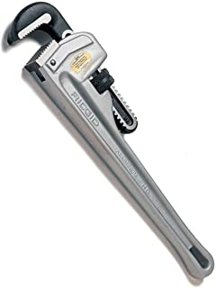 RIDGID 47057 Model 812 Aluminum Straight Pipe Wrench, 12-inch Plumbing Wrench