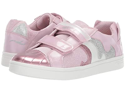 Geox Kids Djrock Girl 20 (Big Kid) (Light Pink) Girl
