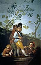 Oil Painting 'Goya Y Lucientes Francisco De Boys Playing At Soldiers 1779', 30 x 47 inch / 76 x 121 cm , on High Definition HD canvas prints is for Gifts And Foyer, Home Office And Kitchen Decoration