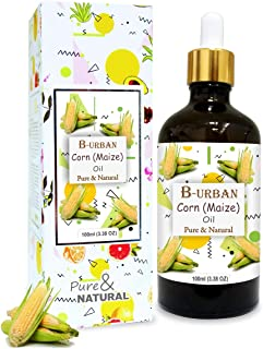 B-URBAN Corn (Maize) Oil 100% Natural Pure Undiluted Uncut Carrier Oil 100ml