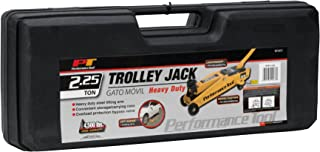 Performance Tool W1611  Trolley Jack with Case - 2.25 Ton Capacity