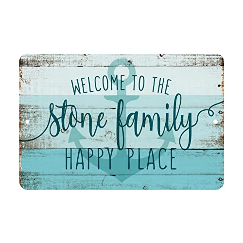 Personalized Metal House Sign Amazon Com