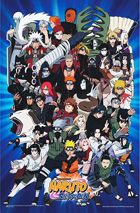 "Hunter X Hunter Group Map Anime Laminated Poster 24.5/"" x 36.5/"""