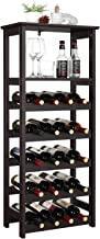 wine and whiskey rack