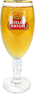 TUFF LUV Personalised/Engraved Chalice/Glass/Glasses/Barware CE Half Pint (284 ml) - Stella Artois