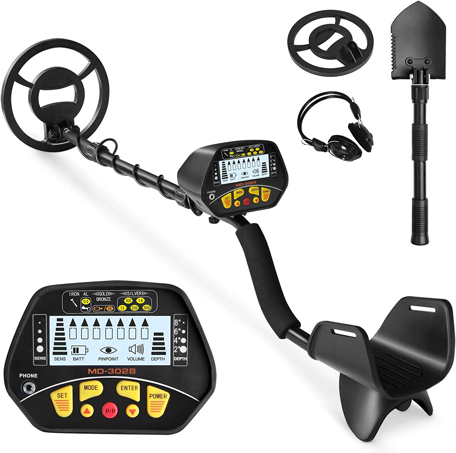 SUNCOO Metal Detector for Kids Adults High - Gold Det Year-end annual account Accuracy Mail order cheap