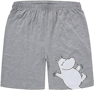 MOOMIN 姆明 进口童装 男孩薄款短裤 夏季儿童 纯棉短裤 休闲裤 运动短裤 HANNU