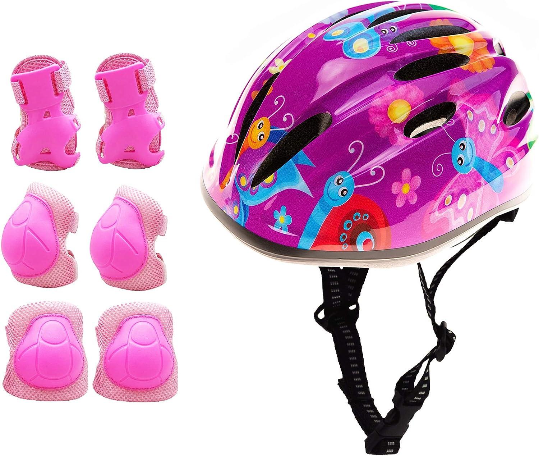 Girl shopping OFFicial store Helmet for Bike Kids Girls Pink Adju Easily