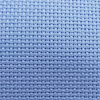 14 16 18 ct Navy Blue Aida cross stitch fabric cloth premium quality Charles Craft and Zweigart