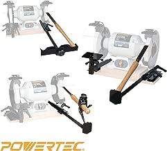 POWERTEC 71021 Bench Grinder Sharpening Jig Kit, Value Pack: 4-In-1
