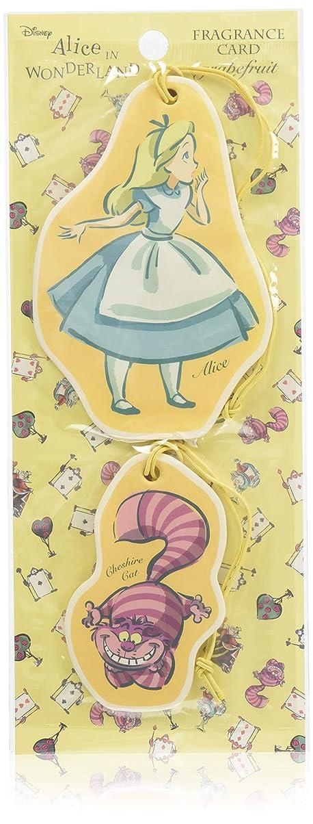 衝突グリップ軸アリス フレグランスカード グレープフルーツ (ルームフレグランス 芳香剤 ディズニー)