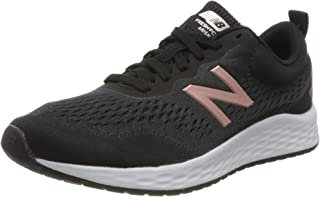 New Balance Fresh Foam Arishi V3, Zapatillas para Correr de Carretera Mujer, Negro (Black/White/Rose Gold), 43 EU