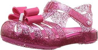 Crocs - Sandale à Ornement Isabella Bow pour Fille