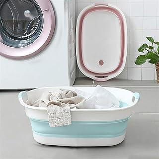Lavabo pliable Bassin pliable - Bassin pliable portable Grand ménage pliant seau à linge Sauce Silicone PP de la voiture r...