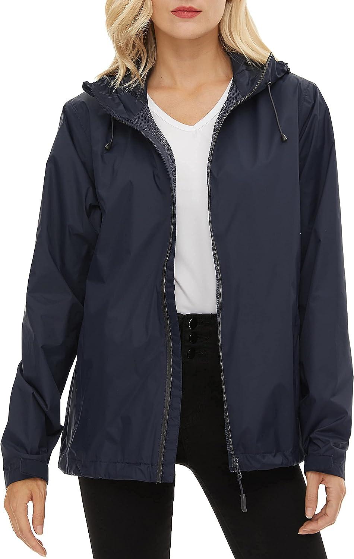 BenBoy Women's Limited Special Price Rain Jackets Luxury Waterproof Lightweight Wind Raincoat