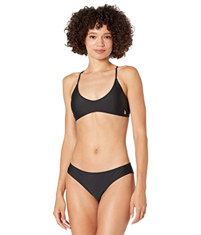 Volcom Simply Solid Scoop Bikini Top
