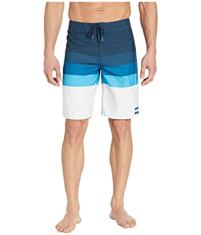 Billabong Midway Stripe (Blue) Men