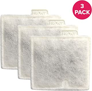 Think Crucial Aquarium Filter Replacement Parts - Compatible with Aqueon QuietFlow 10 Generic Charcoal Filter - Aquarium Filters Medium Charcoal Cartridge - Cartridges for Fish, Turtle Tank (3 Pack)