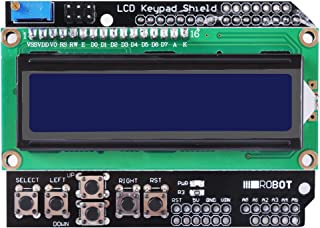 LCD1602 Expansion Board Module, UCEC Display LCD Keypad Shield for Arduino UNO R3 MEGA2560 Nano Due KY54