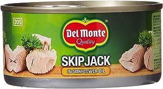 Del Monte Skip Jack Tuna Fish In Sunflower Oil, 185 gm (Pack of 3)