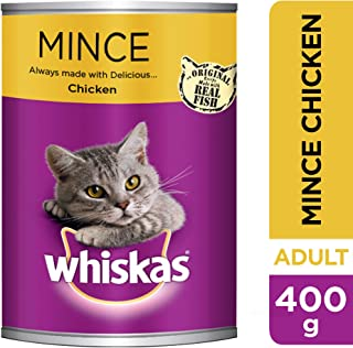 Whiskas Mince Chicken, Can, 400g x 24