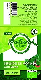Natura Premium Moringa - Infusion Con Stevia 45 Uds Bio 45 g