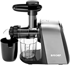 BioChef Axis Compact Masticating Juicer BPA FREE, Quiet 150w Motor / 80 RPM, 1.8