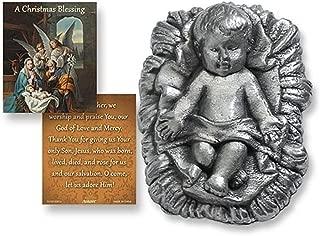Infant Jesus Christ Zinc Alloy Statue with