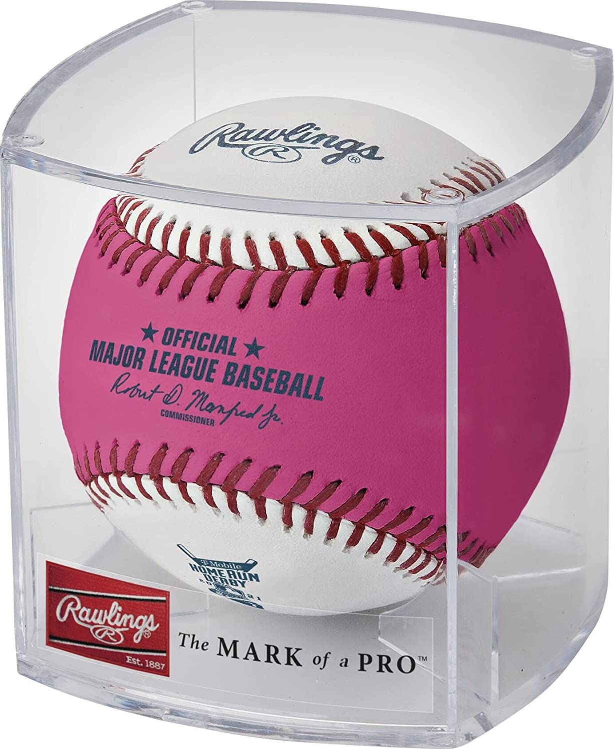 Rawlings 2021 Free shipping MLB All-Star Game Official Home Derby Run Special sale item Mon Pink