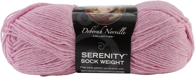 Premier Yarns Deborah Norville Collection Serenity Solid Sock YarnHot Pink