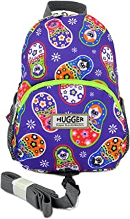 Hugger Totty Tripper little kids and Toddler Backpack with Harness Strap