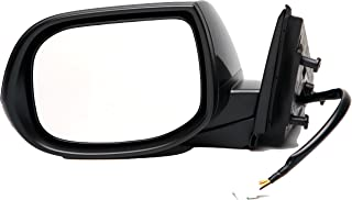 Dorman 955-1689 Driver Side Power Door Mirror - Heated / Folding with Signal for Select Acura Models, Black