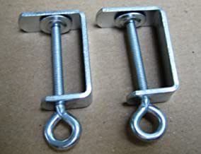 TNS STORE Two Table Clamps for All SilverReed/Singer/Studio and others knitting machine