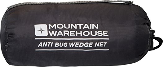 Mountain Warehouse Vacation Bug Wedge Net - Fine Honeycomb Netting Mosquito Net, Pack Away Bag Insect Mesh, Durable Net Bed - Ideal for Travelling, Camping, Hiking