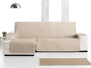 Lanovenanube - Funda Chaise Longue Práctica Oslo - Derecha Extra - Color Beige C01