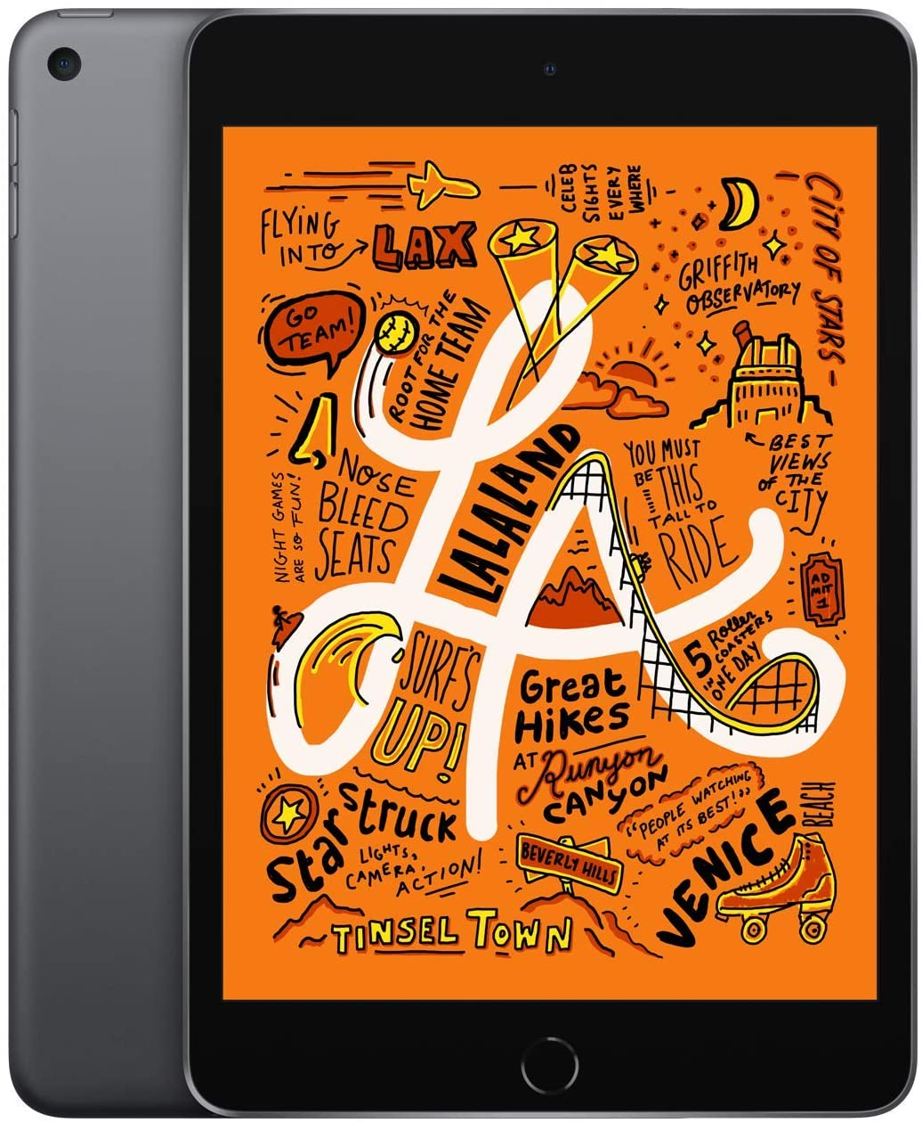 2019 Apple iPad mini (de 7,9pulgadas, con Wi-Fi, 256GB) - gris espacial (5.ªgeneración)