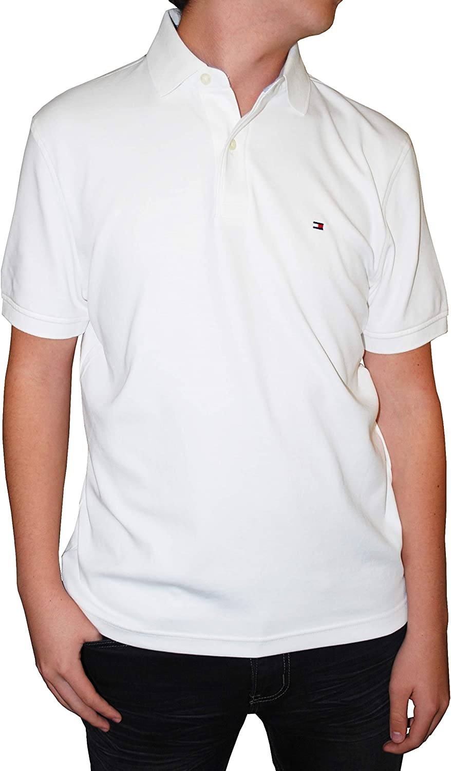 Tommy Hilfiger Men's Paul Raleigh Mall Max 84% OFF Cotton Classic Fit Shirt Polo
