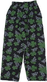 Mens Feeling Lucky Fun Prints Pajama & Lounge Pants