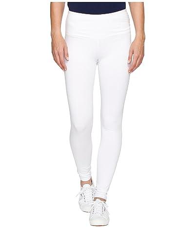 Tribal Stretch Jersey Flatten It Leggings 28 (White) Women