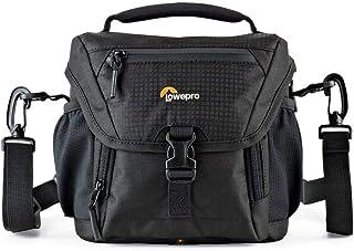 Lowepro Nova 140 AW II, Small Camera Shoulder Bag For Compact DSLR And Mirrorless Cameras, Black, (LP37117-PWW)