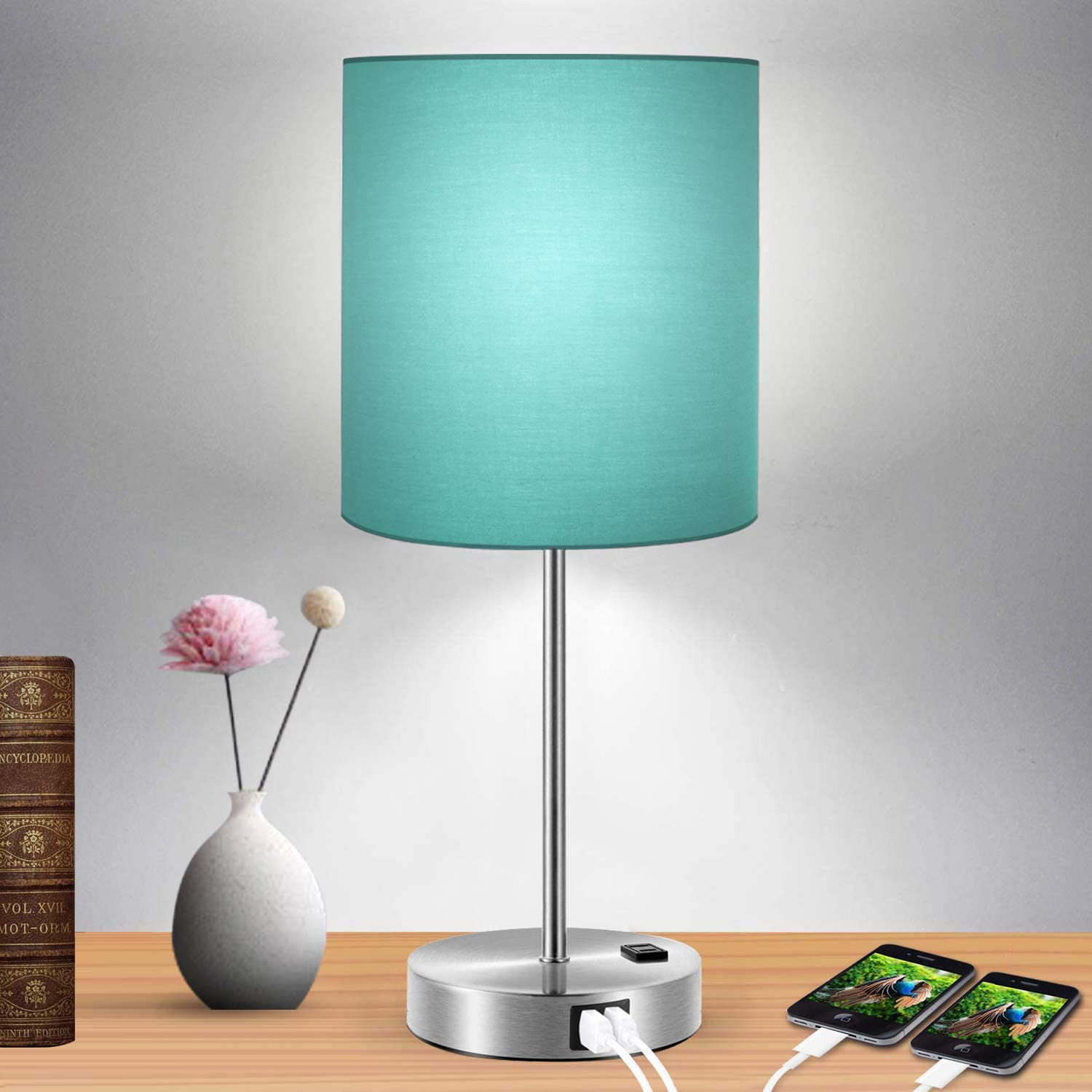 Touch Control Table Lamp Now free shipping Green Dimmable Shade 3-Way 2 with Topics on TV