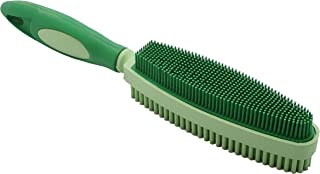 SWEEPA Duo Rubber Brush For Cleaning, Grooming, Lint and Fur Removal. Home and Auto.