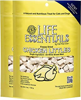 Freeze Dried Chicken Little's for Dogs & Cats -5 oz - 2 Pack