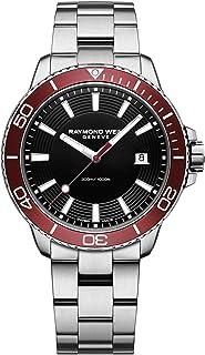 Raymond Weil Men's Tango 301 Quartz Watch with Stainless-Steel Strap, Silver, 20 (Model: 8260-ST4-20001)