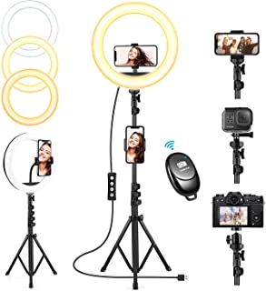 10'' Selfie Ring Light with Tripod Stand, Upgraded...