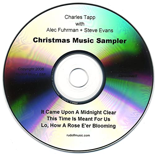 Christmas Music Sampler by Charles Tapp With Alec Fuhrman