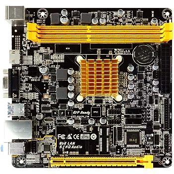 BIOSTAR A68N-2100E AMD E1-2150 APU搭載 Mini-ITXマザーボード [国内正規流通品]